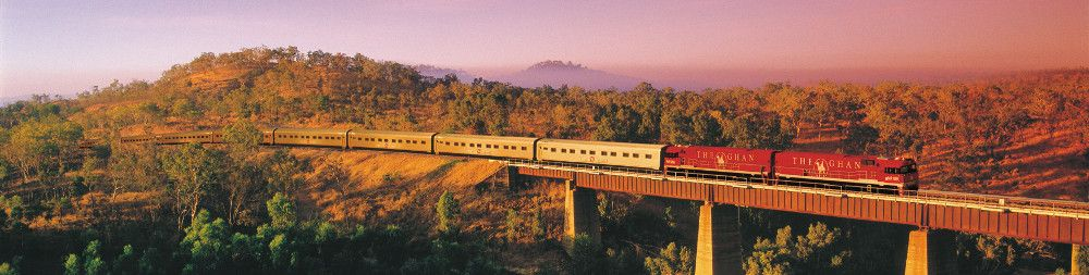 The Ghan Trains